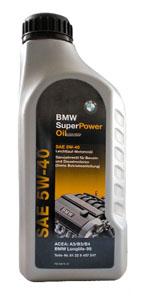 Масло моторное BMW SUPER POWER 5W-40 1 л.
