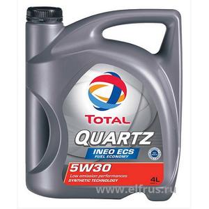 Масло моторное TOTAL QUARTZ INEO ECS 5W-30 4 л.