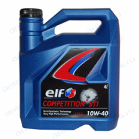 Масло моторное ELF COMPETITION STI 10W-40 4 л.