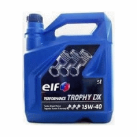 Масло моторное ELF PERFOMANCE TROPHY DX 15W-40 5 л.