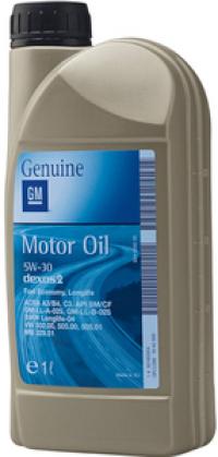 Масло моторное GM OPEL DEXOS 2 5W-30 1 л.