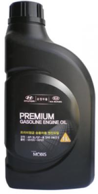 Масло моторное HYUNDAI MOBIS Premium Gasoline 5W-20 1 л.