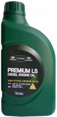 Масло Моторное HYUNDAI MOBIS Premium LS Diesel 5W-30 1 л.