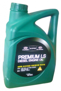 Масло моторное HYUNDAI MOBIS Premium LS Diesel 5W-30 4 л.