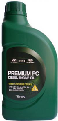 Масло моторное HYUNDAI MOBIS Premium PC Diesel 10W-30 1 л.