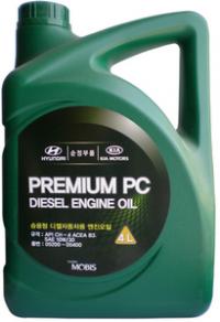 Масло моторное HYUNDAI MOBIS Premium PC Diesel 10W-30 4 л.