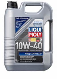 Масло моторное Liqui Moly MoS2 Leichtlauf 10W-40 5 л.