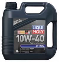 Масло моторное Liqui Moly Optimal 10W-40 4 л.
