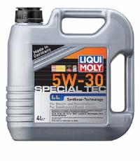 Масло моторное Liqui Moly Special Tec LL 5W-30 4 л.